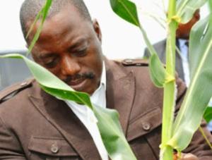 Le Président Joseph Kabila Kabange a en outre promis son appui à la population qui va pratiquer l'agriculture sur ce site